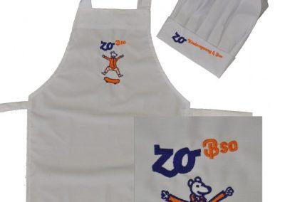 logo borduren Zo Kinderopvang BSO